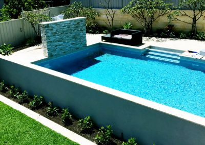 Sophisticated Scarborough backyard